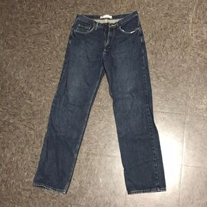Lee Premium Relaxed Straight Leg 33 x 34 Jeans